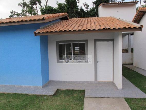Casa Com 2 Dormitórios À Venda, 58 M² - Bahamas - Vargem Grande Paulista/sp - Ca0007