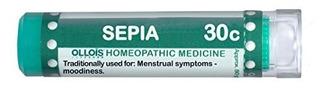 Ollois Medicamentos Homeopáticos, Sepia 30c Pellets, 80