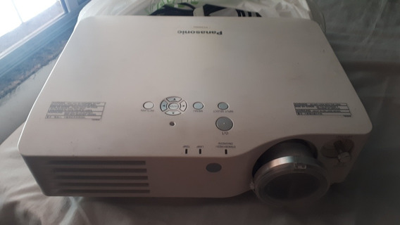 Projetor Panasonic Pt-ax200u + Tela De Projetor