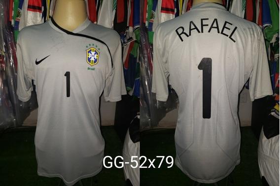 Camisa Brasil Gk Goleiro De Jogo Nike