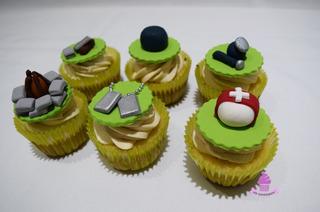 Cupcakes Fortnite Botiquin Play Juegos Mesa Dulce