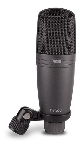 Microfono Condensador Profesional Con Usb Novik Neo Fnk-02u