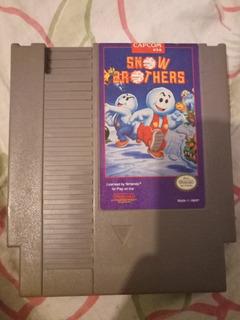 Snow Brothers Nes Original