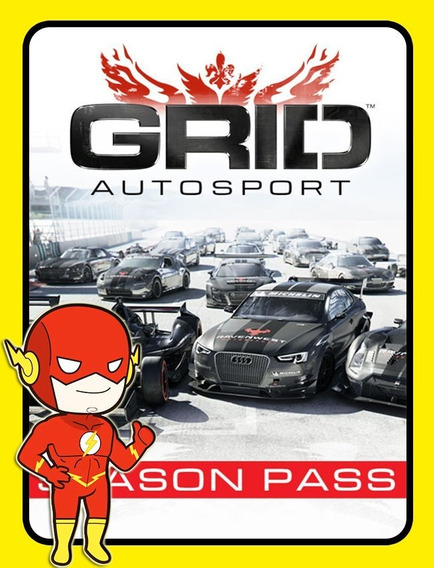 Grid Autosport Season Pass Dlc - Steam Key (envio Flash)