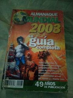 Almanaque Mundial 2003, Coleccionable, Remate