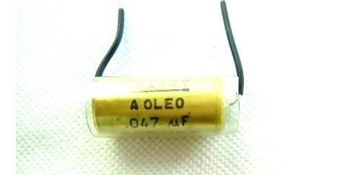 Capacitor À Óleo Cherry 047uf X600 Vdc