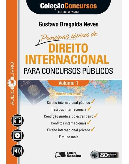 Cd Principais Tópicos Direito Internacional Concursos Públic
