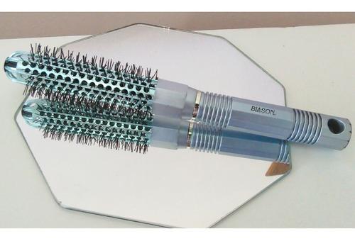 Cepillo Térmico Metálico Secar Cabello Marca Blason Antifriz