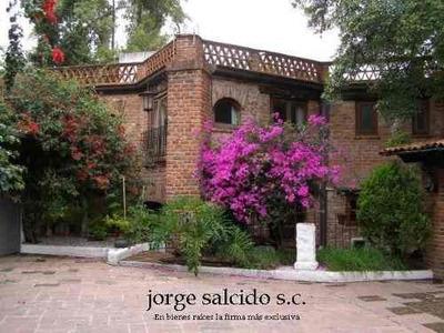 Magnifica Casa En Ocotepec En San Jeronimo Lidice