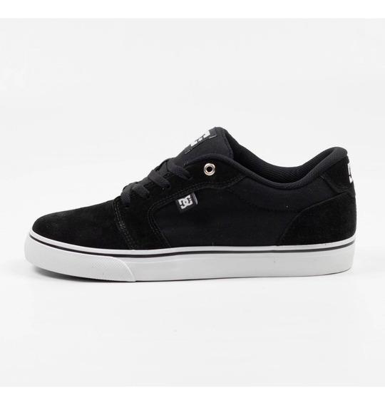 Tênis Skate Dc Shoes Anvil La Preto/branco Original
