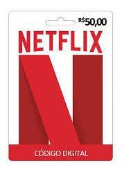 Cartão Netflix Digital