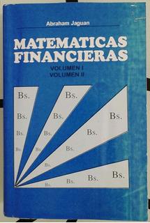 Matematicas Financieras Libro Nuevo Autor Abraham Jaguan