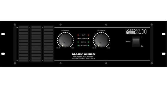 Amplificador Potência Mark Audio Mk 2.0 2000wrms Mk2.0