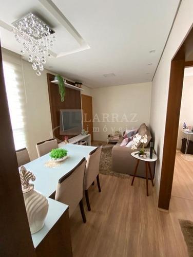 Lindo Apartamento Para Venda, No Manoel Penna Em Frente Ao Novo Shopping No Cond Reino Da Escocia, 2 Dormitorios, Lazer Completo E Portaria 24h - Ap02211 - 68425850