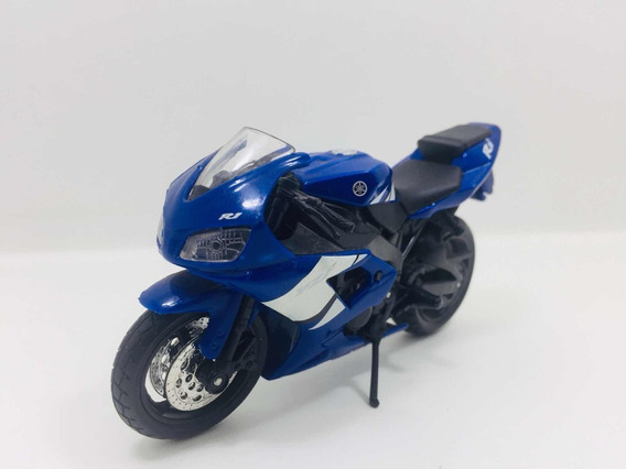 Miniatura Moto Yamaha Yzf R1 Maisto 1/18