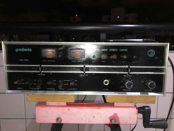 Amplificador Gradiente Sta 900 Impecável Raridade