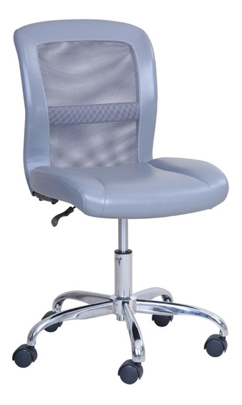 Silla De Oficina, Mainstays Vinyl And Mesh Task Office Chair