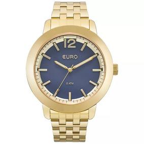 Relógio Euro Unissex Dourado Euy121e6aa/4a