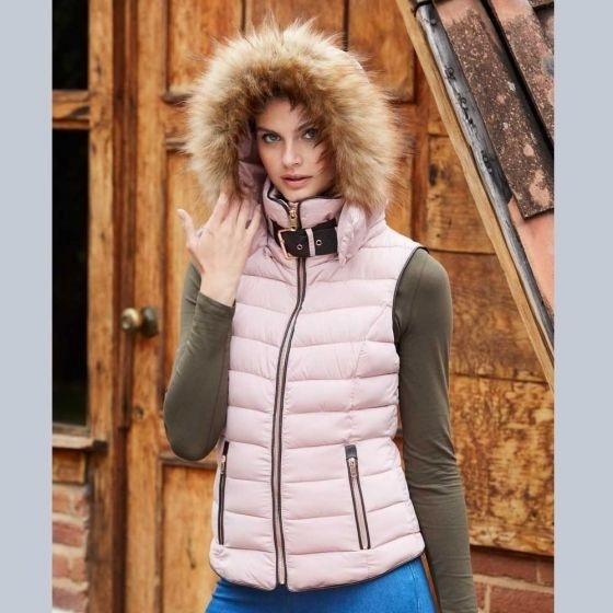 Ropa Moda Hollyland Chaleco Abrigo Mujer Capucha Impermeable
