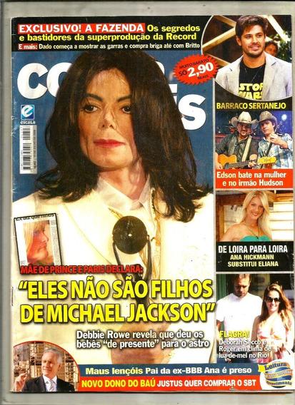 Revista Conta Mais 447/09 - Michael Jackson/xuxa/gugu/silvio