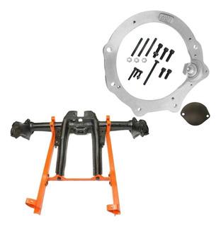 Kit Flange Motor Ap X Câmbio Fusca Completo - Adap Brasil