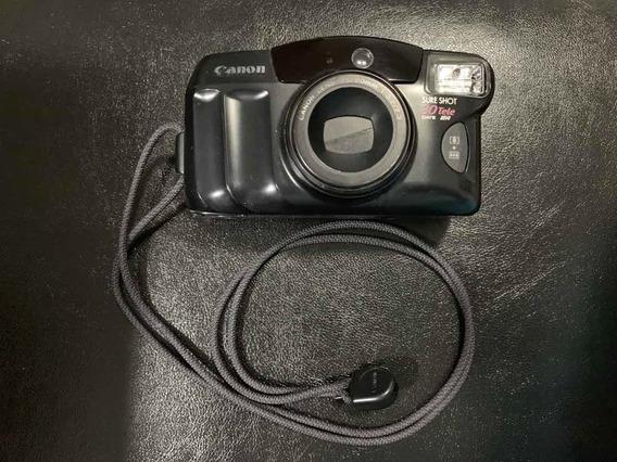 Câmera Canon Analógica - Sureshot 80 Tele