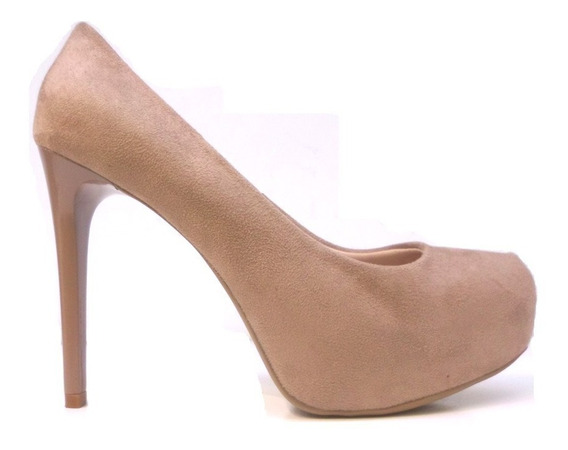 Zapatos Chocolate Stilettos Altos Taco Aguja 12 Cm Rimini