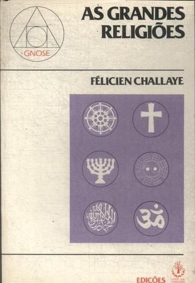 As Grandes Religiões Félicien Challaye (4905)
