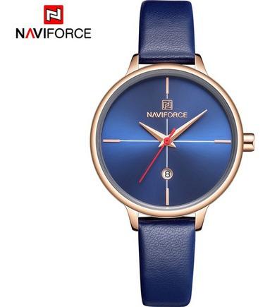 Relógio Feminino Naviforce 5006 Quartzo Resistente A Água