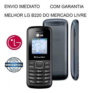 Celular Radio - Pra Roça - Simples Modelo Lg B220