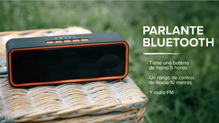 Parlante Bluetooth - Belia