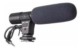 Microfone Profissional Mic-01 Nikon Canon Pentax Dslr