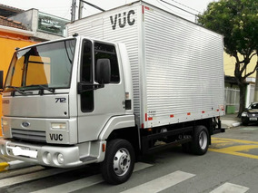 Ford Cargo 712 Bau Ano 2010 Unico Dono Vuc