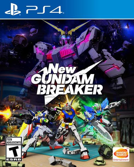 Jogo Mídia Física New Gundam Breaker Original Para Ps4