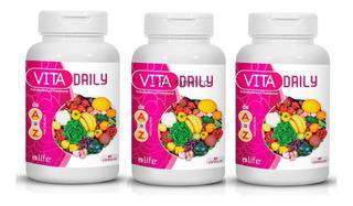 Kit 3 Melhor Polivitaminico Para Homens Complexo De Vitamina