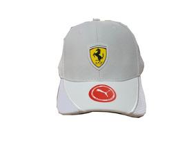 Bone Ferrari Puma Branco Alta Qualidade Primeira Linha