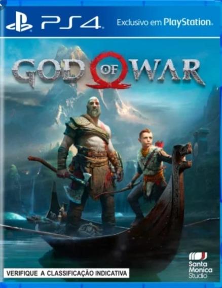 God Of War 4 Ps4 1 Dublado- Verifique Descrição.
