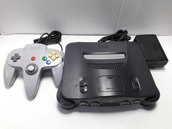 Video Game Nintendo 64 Completo Pronto Para Jogar