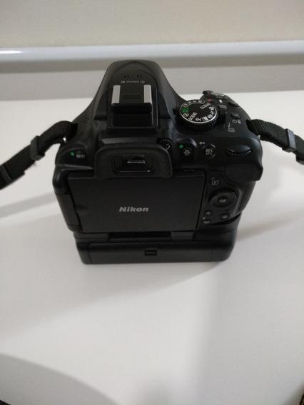 Nikon D5200 + Lente 18-55mm + 16gb + Mochila De Transporte