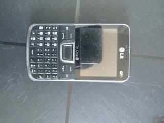 Celular LG C333 (quebrado)