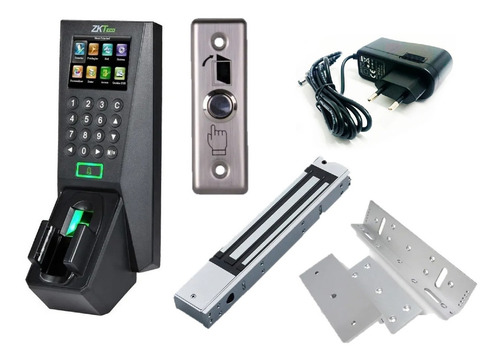 Imagen 1 de 9 de Combo Control Acceso Biométrico Y Venas Reloj Fv18 Zkteco®