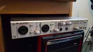 M-audio Firewire 1814+ Placa Firewire3 Puertos Pcie Texas In