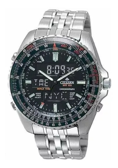 Relógio Citizen Promaster Wingman Vi Jq8000-50e Pequeno