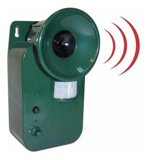 Repelente Ultrasonico Con Sensor De Movimiento 8 Metros