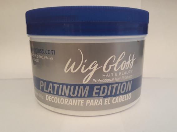 Polvo Decolorante Wig Gloss Platinum 250gr