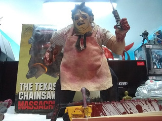 Leather Face Texas Chainsaw Massacre (mezco) 25 Cms