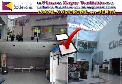 Venta De 3 Locales En Plaza Boulevares, En Planta Baja.-