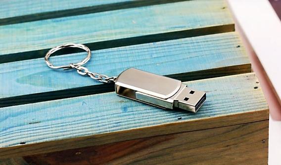 Pen Drive De Qualidade De Aço Inoxidável Usb 32gb
