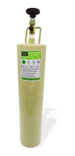 Cilindro Transporte Gás Refrigerante R12 R22 R134 3kg