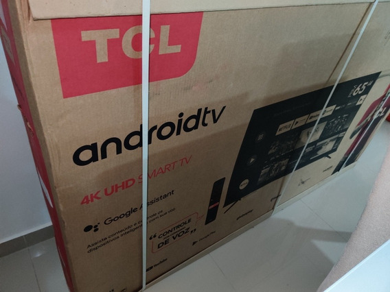 Smart Tv 65 4k Tcl P8m Android Google Assistente Lacrada Rj